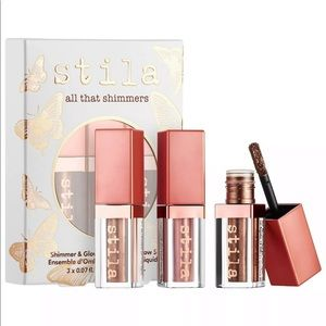 NIB Stila All That Shimmers Liquid Eyeshadow Set